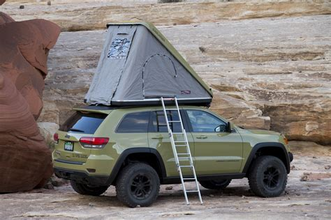 jeep compass tent the jeep grand cherokee overlander concept what it s like