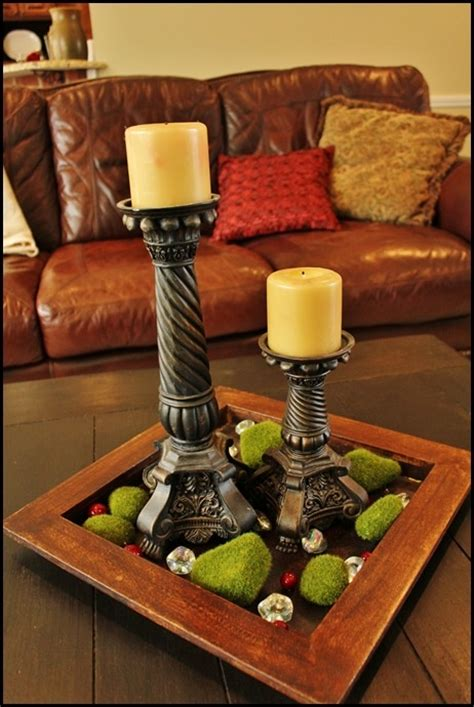 11 Best Images About Coffee Table Centerpieces On Coffee Table Centerpieces