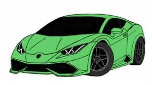 How To Make A Lamborghini How To Draw Lamborghini Huracan Car By