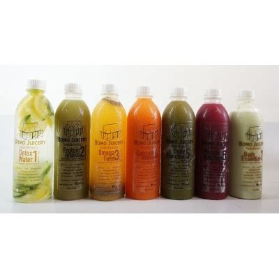 Detox Juice Jakarta by Bomo Juice Delivery Fresh Detox Cleanse Cold Pressed