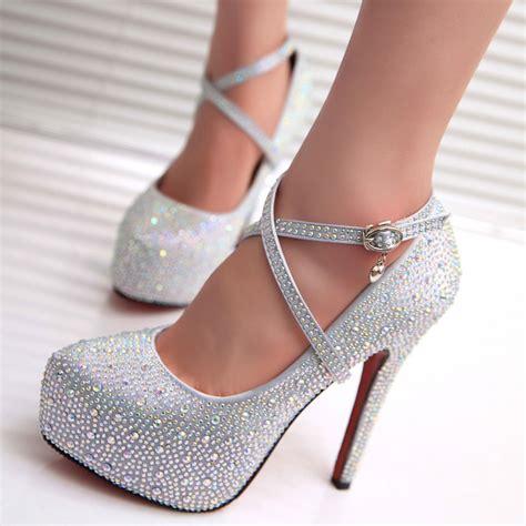 2017 high heels prom wedding shoes