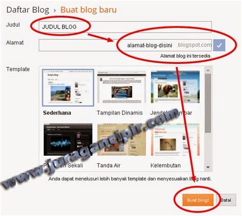 cara membuat alamat blog bagaimana cara membuat alamat blog di blogger juragan cipir