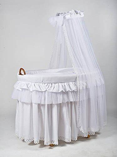 moses basket drapes wicker crib moses basket cot with bedding drape
