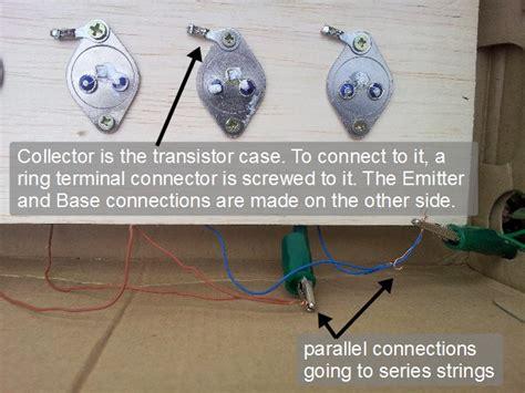 transistor jengkol sebagai solar cell enclosed solar panel made out of transistors