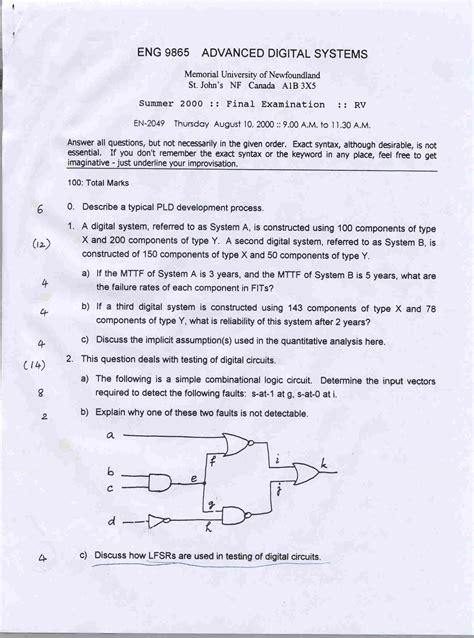 design engineer exam engineering 9865