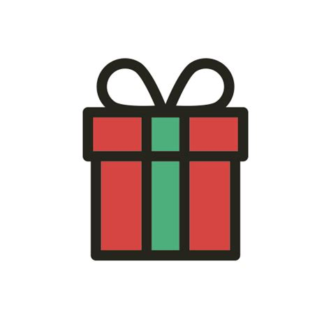 christmas gift holidays party present icon icon