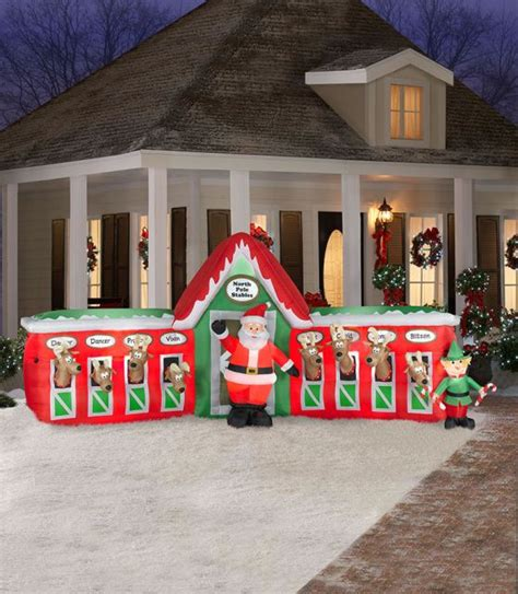 new large 2015 christmas inflatable yard decoration 12