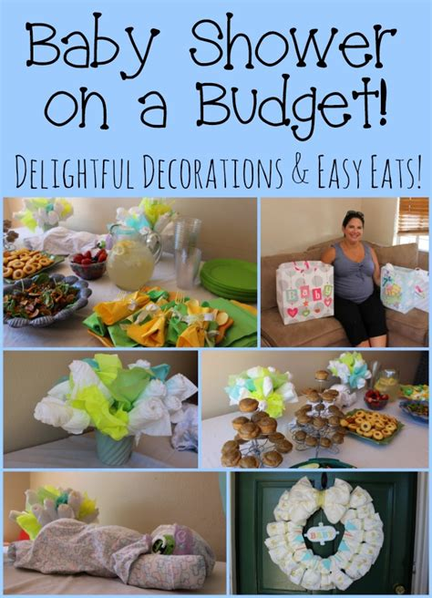 easy diy budget baby shower decorations