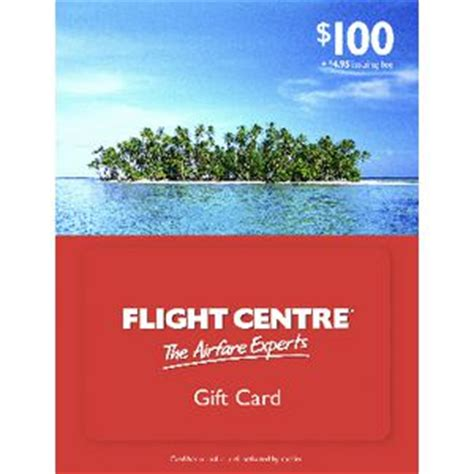 Gift Cards For Flights - flight centre gift card 100 officeworks