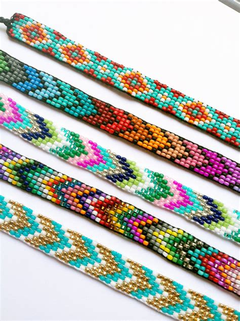 Friendship Bracelets Handmade - handmade beaded friendship bracelet