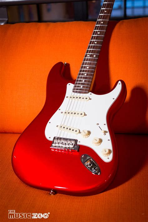 fender releases  candy apple red american professional
