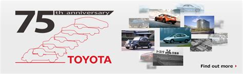 products of toyota company toyota global site history of toyota