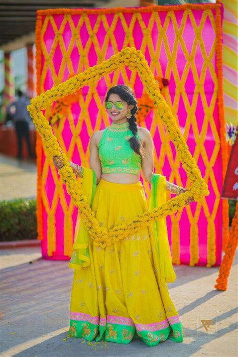 pin  fathima  haldi   indian wedding