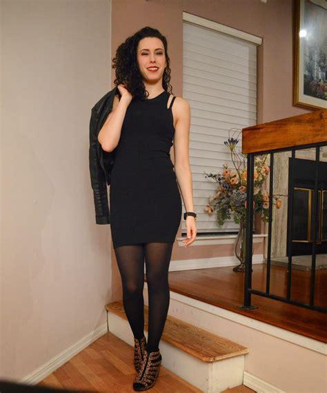 fashionalli  black dress