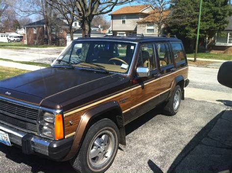1987 jeep wagoneer 1987 jeep grand wagoneer v6 auto for sale in chicago illinois