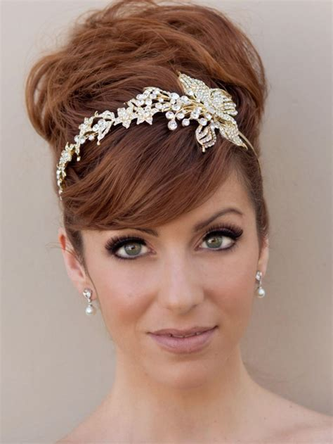 Wedding Hairstyles With A Headband by 60 Wedding Bridal Hairstyle Ideas Trends Inspiration
