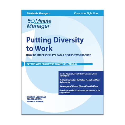 putting diversity to work shop all