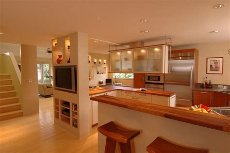 Koolau Retreat Asian Style Kitchen Design