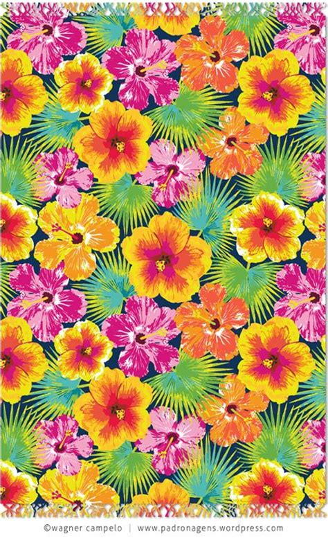 hawaiian pattern iphone wallpaper cangas iphone wallpapers blue and hibiscus