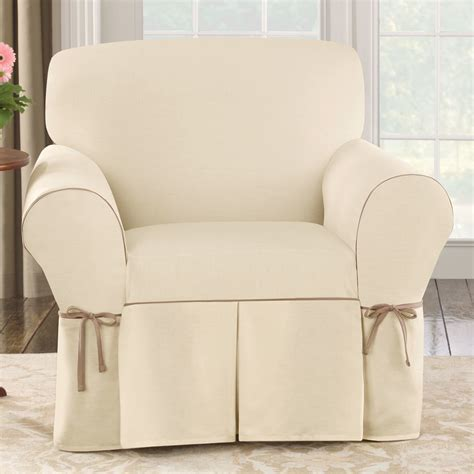 ultralight cing chair sure fit cotton duck wing chair slipcover similiar