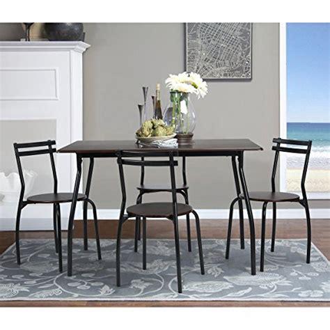 coavas 5pcs dining table set kitchen furniture kitchen