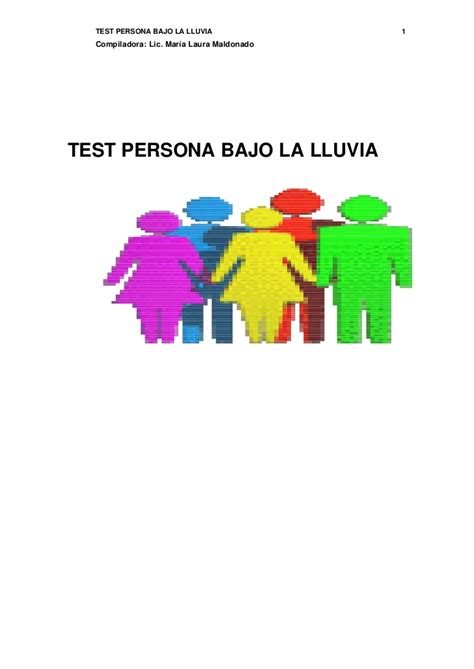 test persona test persona bajo la lluvia