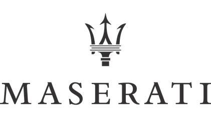 maserati back logo maserati