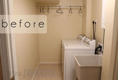 A Quick Cheap Laundry Room Refresh Pink Little Cheap Laundry