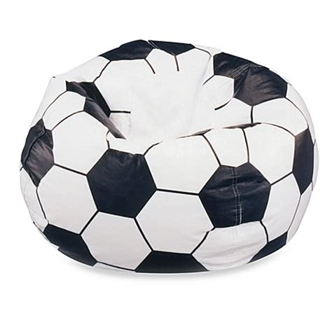 soccer bean bag chair cover large soccer bean bag chair cover bed bath beyond