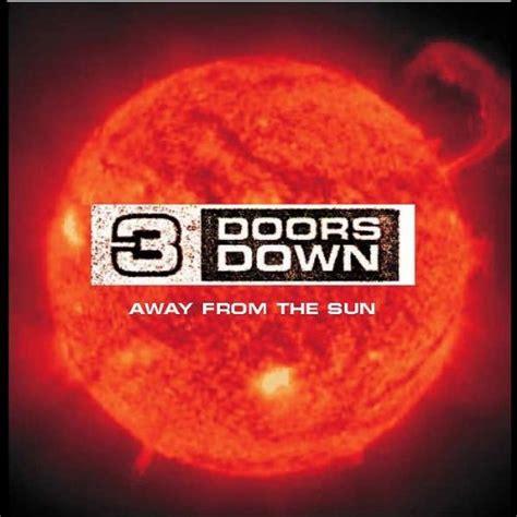 3 Doors Away From The Sun Lyrics by Away From The Sun German Single 3 Doors