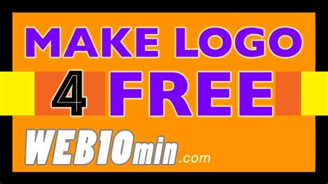 How To Find For Free On The How To Make A Logo In 10 Minutes For My Business For Free