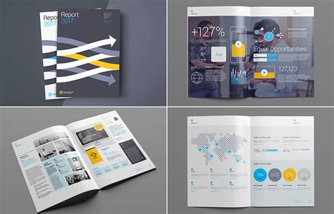 15 Annual Report Templates With Awesome Indesign Layouts Annual Report Design Templates