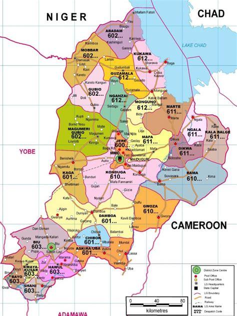 us government area code wpid borno state postcode map church of the brethren