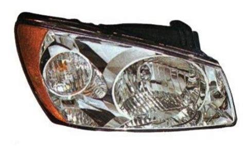 2006 Kia Spectra Headlight Replacement Kia Spectra Lx Sedan 2004 2006 Right Passenger Side