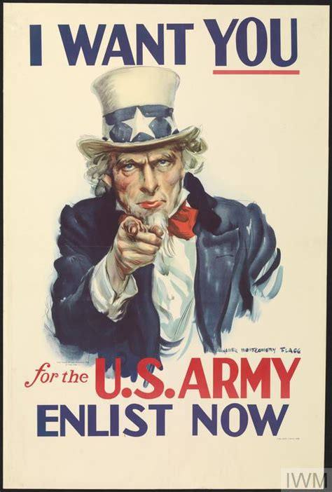 i want you i want you for the us army enlist now art iwm pst 3137