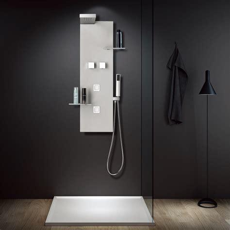 doccia pioggia colonna doccia idromassaggio in acciaio inox soffione a