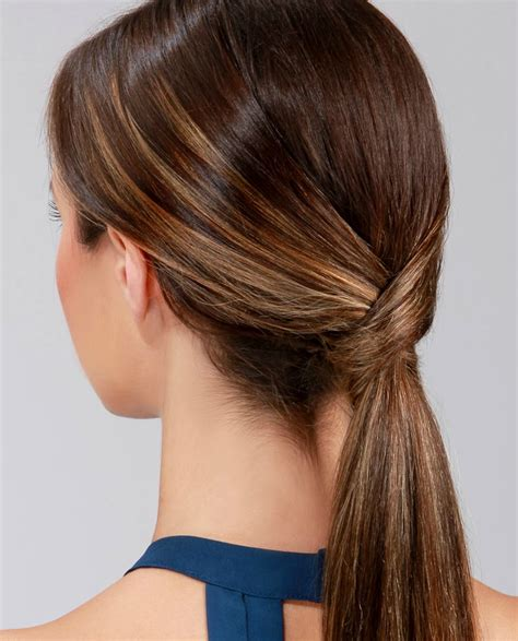 the new chic and sleek ponytail hairstyle lulus how to runway ready low ponytail lulus com