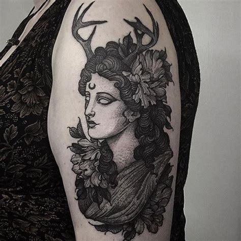 artemis tattoo best 25 artemis ideas on cresent moon