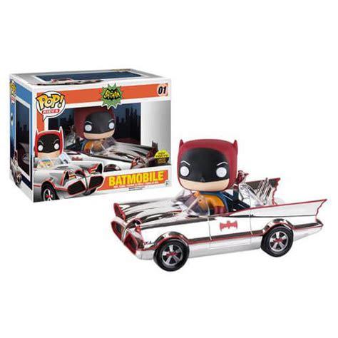 To Dc 66 dc comics 66 chrome batmobile with batman pop ride