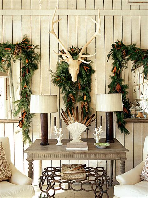 rustic christmas decor southern living cozy natural christmas decor the inspired room