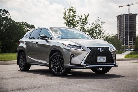 lexus rx 2017 review 2017 lexus rx 350 f sport canadian auto review