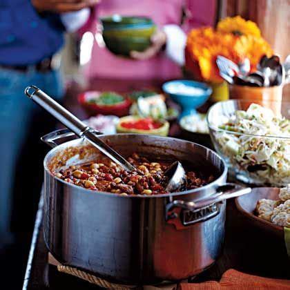 Recipe Chili And The O Jays On Pinterest Chili Buffet Menu