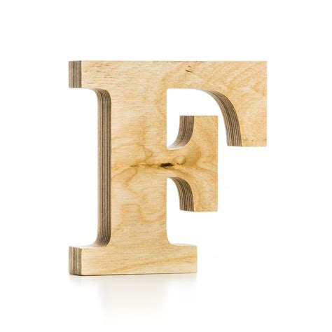 wooden letter crafted from quality birch plywood hand finished mr wood