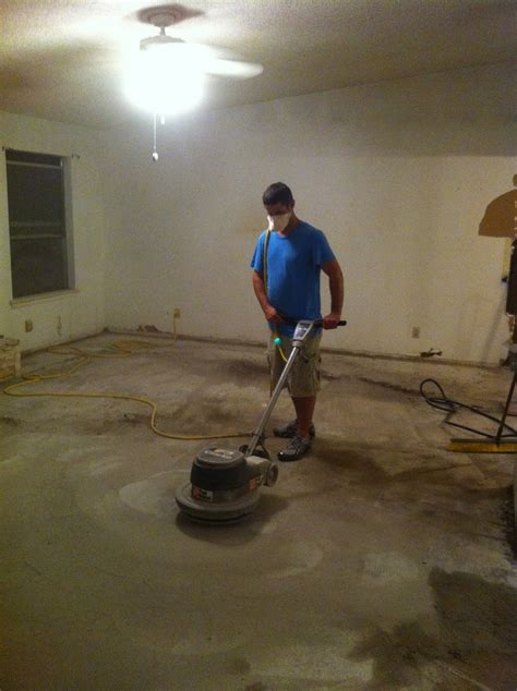 How To Get Stains Out Of Concrete Floors by Acid Etched Concrete Stain Is Used Throught Out Our Home