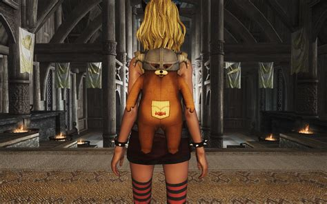 skyrim nexus mods and community teddybear backpack retex at skyrim nexus mods and community