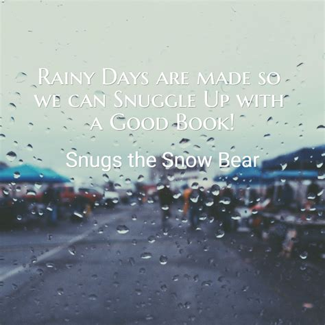 with all we are books rainy days are made so we can snuggle up crop book