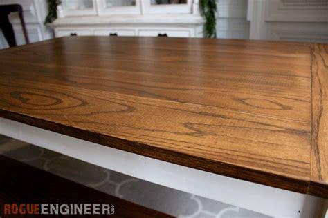 DIY Solid Oak Farmhouse Table   Free & Easy Plans