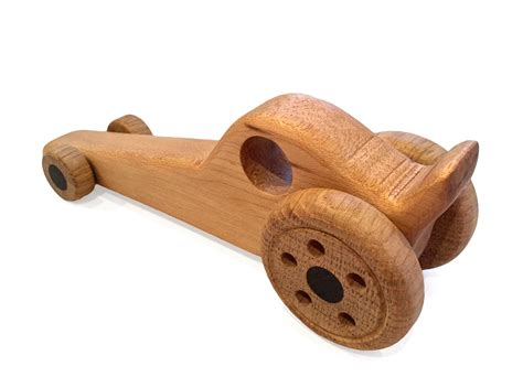 Handcrafted Wooden Gifts - toft workshop dragster handmade wooden gift