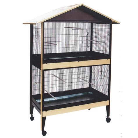 gabbie e voliere per uccelli gabbia voliera zincata e verniciata doppia uccelli damo