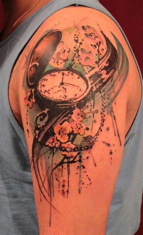 watercolor tattoo for man watercolor tattoos shoulder tattoos for
